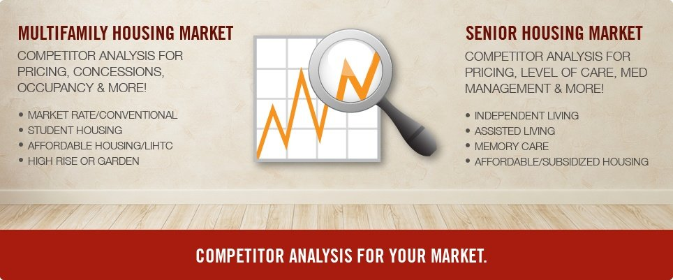 Providing the Best Apartment Competitor Analysis For You and Your Market